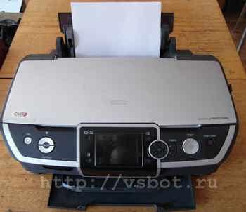 Струйный принтер Epson_R390