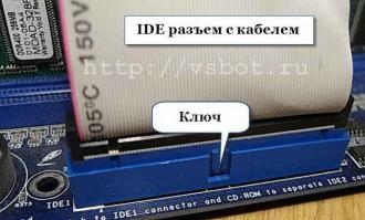 Разъем IDE интерфейса