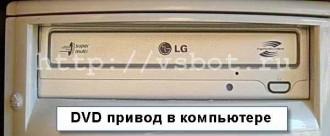 DVD привод в компьютере
