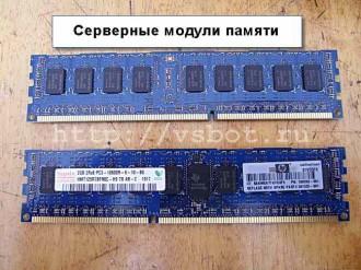 оперативная память сервера