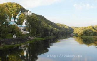 Вид со Святогорского моста