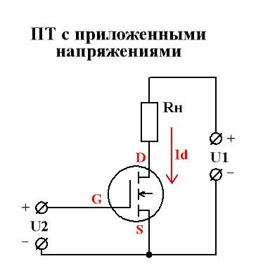 Транзистор схема в ключевом режиме