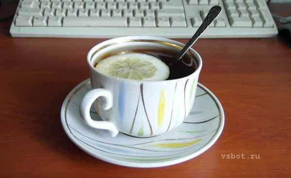 Утренняя чашка чая