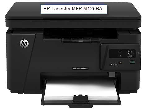 HP LaserJet MFP M125RA