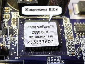 Микросхема BIOS