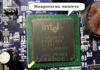 Микросхема чипсета