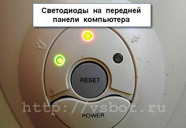 Светодиодная индикация компьютера