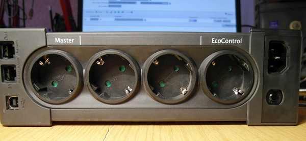 Задняя панель EATON 800