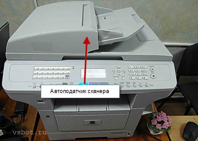 Автоподатчик сканера