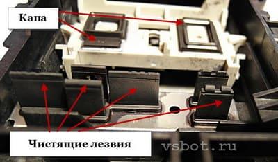 Капа в струйном принтере