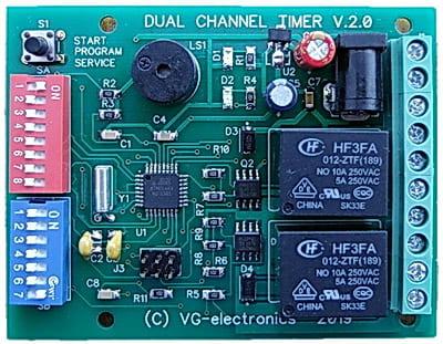 Двухканальный таймер