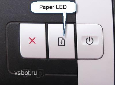 Индикатор бумаги