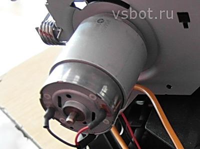 Paper motor
